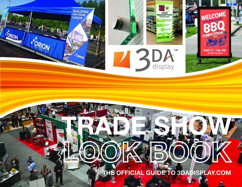 3DA Display Catalog, Trade Show Look Book