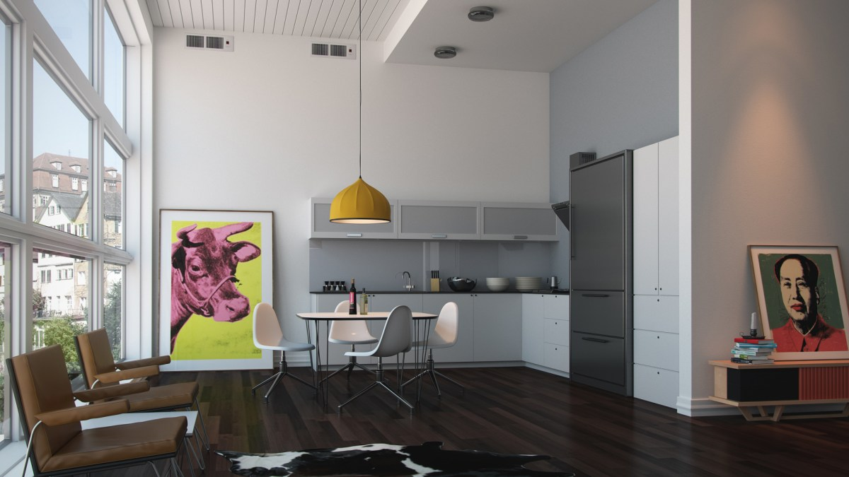 Free Download – Realistic Vray Interior 3dsMax
