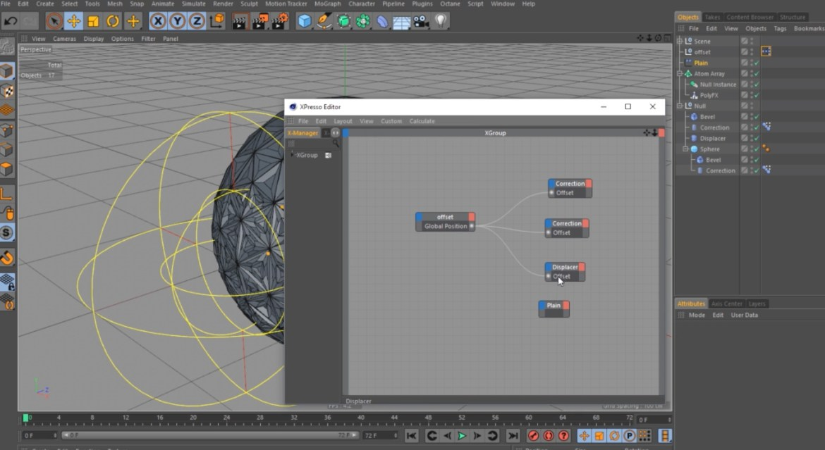 CREATING DYNAMIC SUBDIVISION IN CINEMA 4D