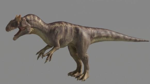 Allosaurus Dinosaur Maya Rig Download