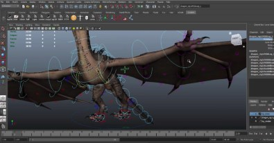 Dragon-Animation-Free-Rig-to-download