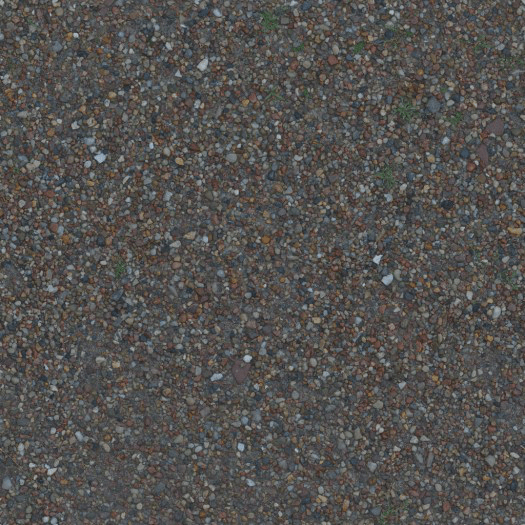 Texture Maps Free to use for Game Development and 3D Renders Gravel_1x1_Seamless_Albedo_Preview