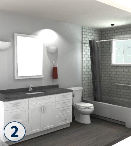 Cincinnati Ohio Bathroom Remodeling  3 Day Kitchen  Bath