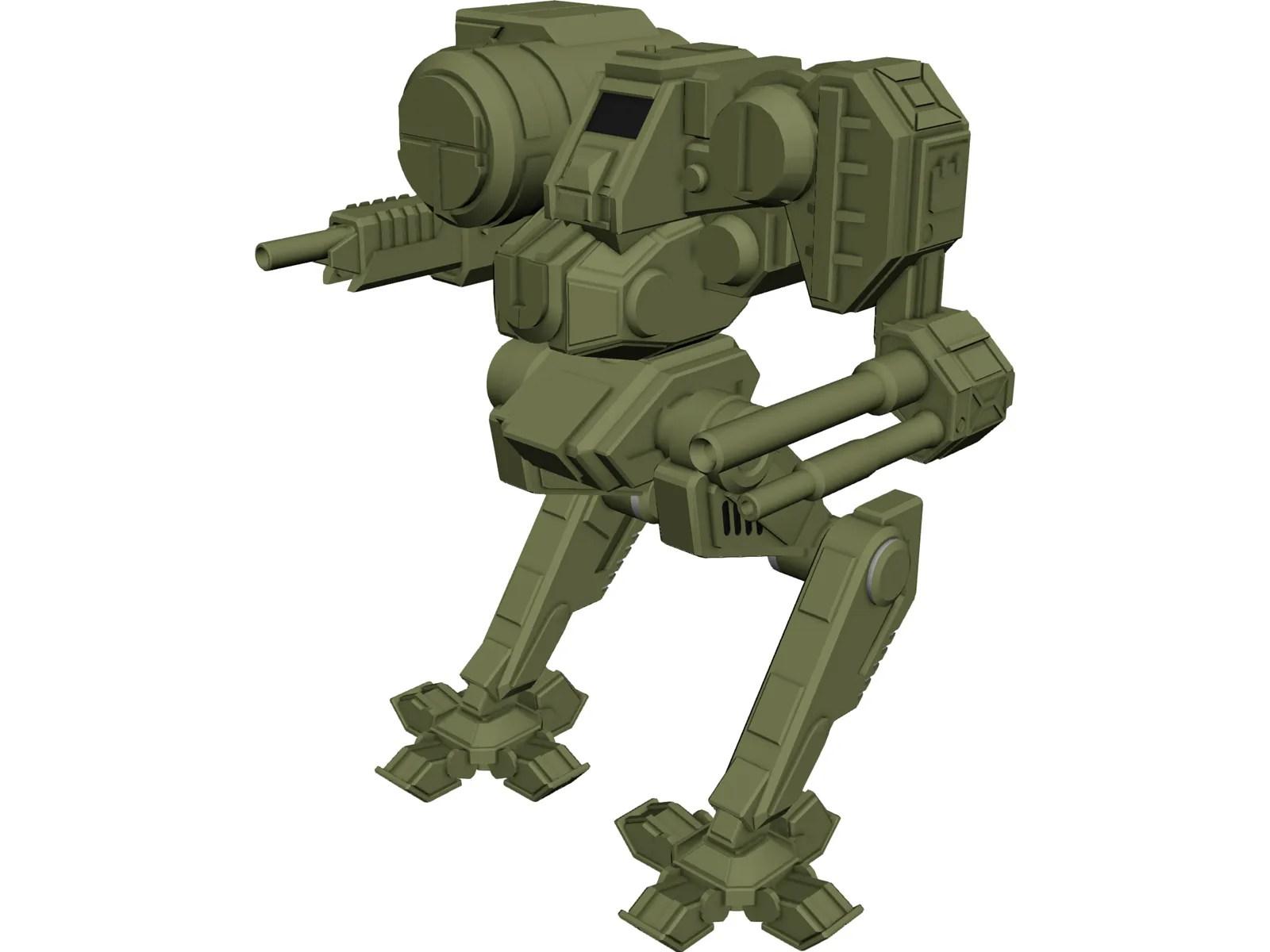 chimera battletech 3d model