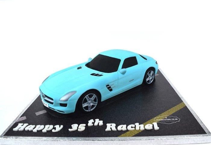 Mercedes Car Cake 3d Cake Store