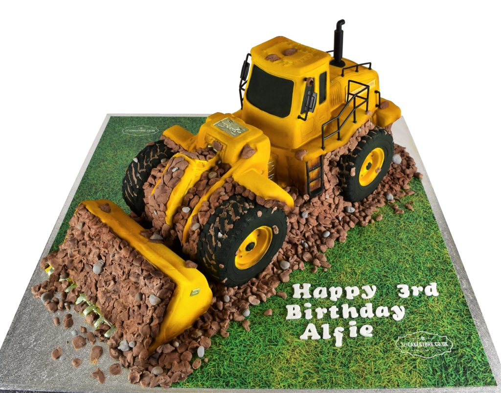 3d Jcb Digger Cake 3d Cake Store 3d Cake Store