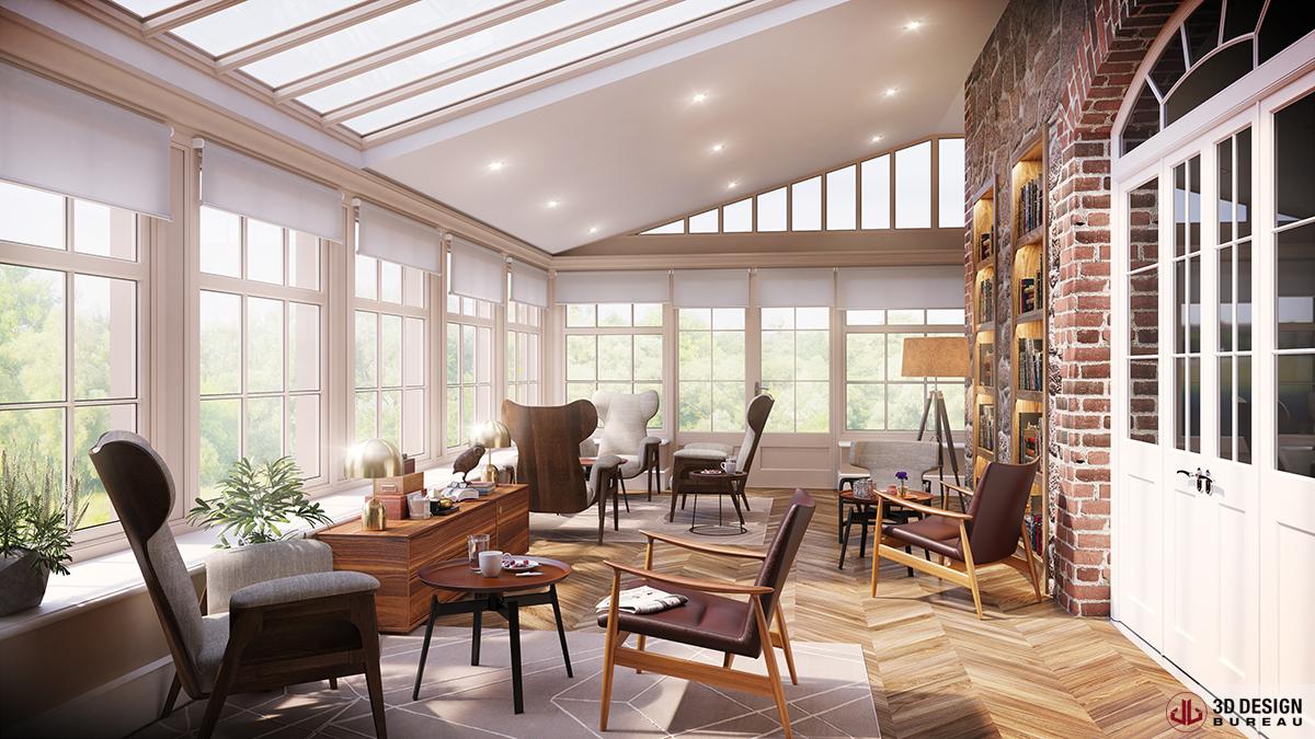 living room design tool hanging lights for 3d bureau   interior rendering portfolio