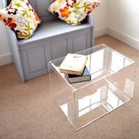 Perspex Coffee Tables - acrylic home accessories from 3D ...