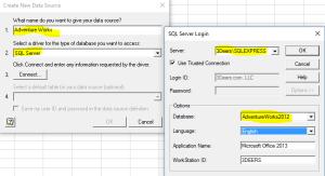 Data Source Setup