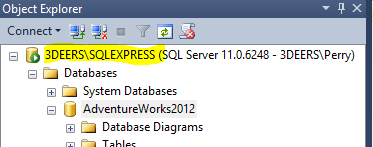 How to Connect to SQL from Excel - 3Deers com, LLC
