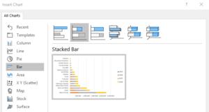 Pivot Chart Stacked Bar