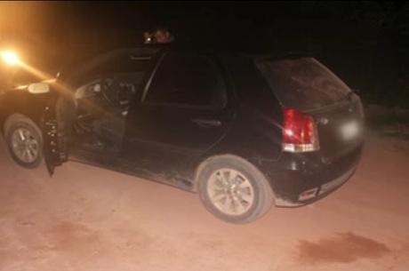 Corpos foram achados em carro em estrada rural no Pará Reprodução Rede Record