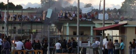 Rebelião iniciou no bloco C do Ipat por volta das 16 horas (reprodução)