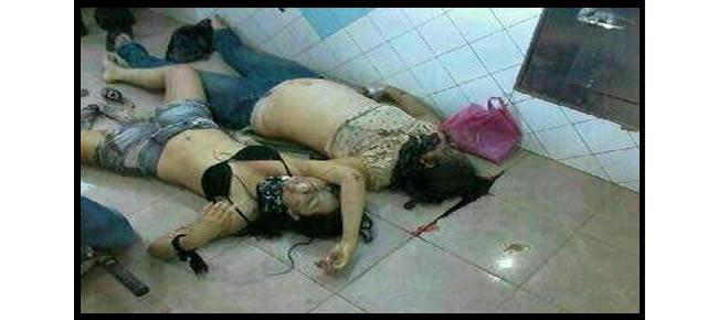 Mulheres foram assassinadas com tiros na cabeça – Foto: cedidas