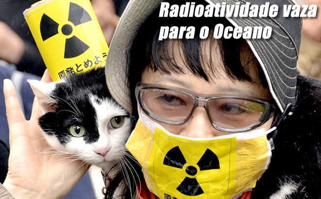 Uma radiação de 1,8 mil millisieverts por hora