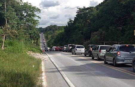 KM 8 da BR-174 (estrada que liga Manaus ao município de Presidente Figueiredo e ao Estado de Roraima)