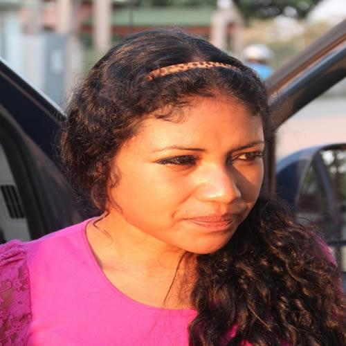 Mulher saiu da cidade de Lima, capital do Peru, com destino à São Paulo. Iria receber mil dólares caso completasse sua viajem. Foto: Alexandre Lima