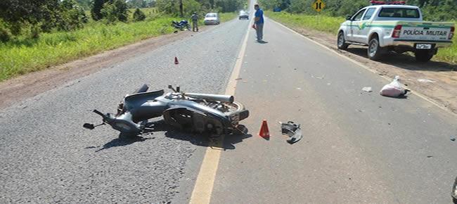 Conversão sem atenção foi o motivo do acidente