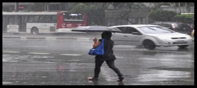 Clima de chuvas