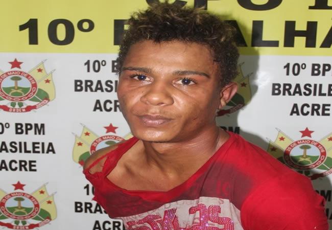 Maurício é o principal suspeito de vários furtos na fronteira – Foto: Alexandre Lima