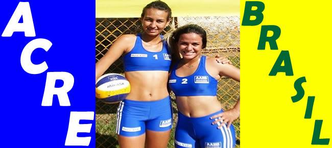 uemile Souza, 18 anos, foi convocada para treinar com a Seleção Brasileira