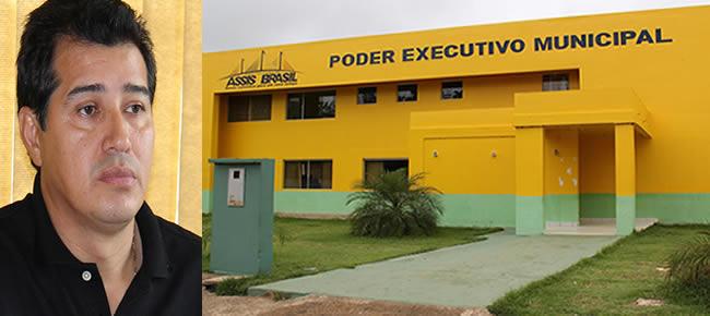 CRUZA OS BRAÇOS SOBRE O PAGAMENTO DE ASSIS BRASIL - FOTO ALEMÃO MONTEIRO