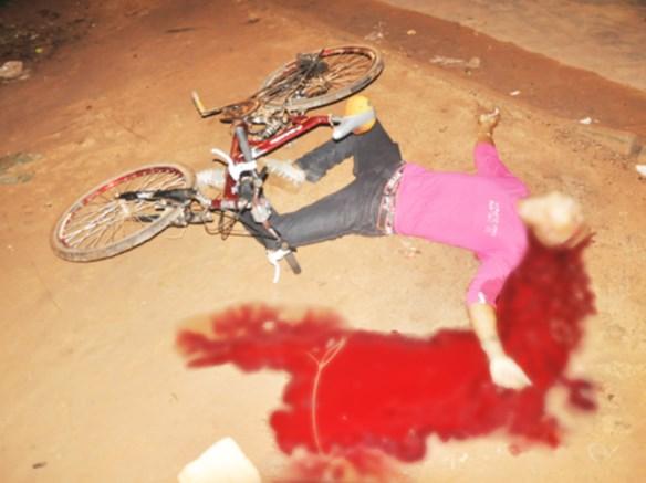 Manoel foi atingido na cabeça e teve morte instantânea/Foto: Selmo Melo/Agência ContilNet