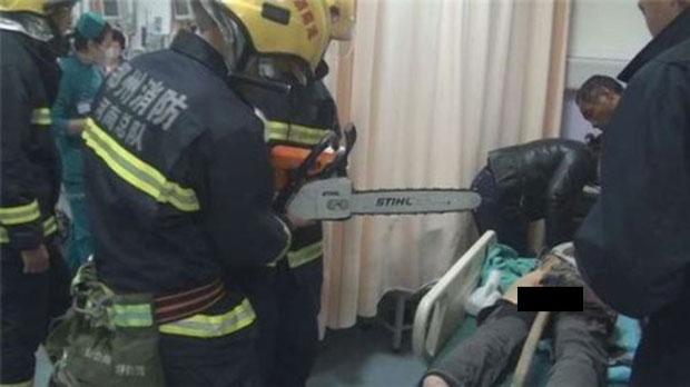 O homem ficou quase quatro horas em cirurgia no Hospital