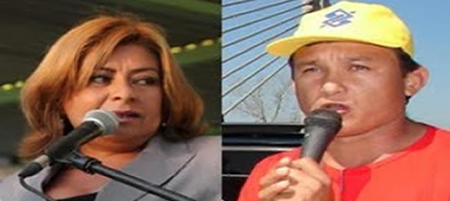 Ex-gestores Manoel Batista e Eliane Gadelha