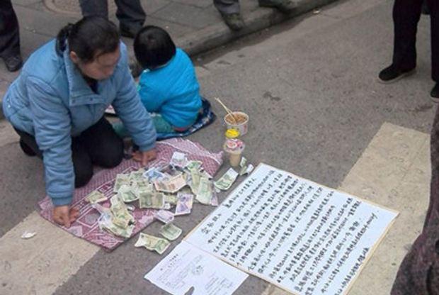Liu Xiaoying tentou vender o neto de 8 anos na rua para pagar tratamento a filho com leucemia.
