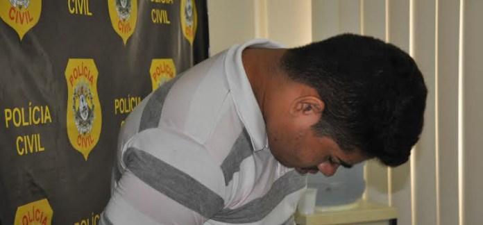 O acusado fugiu, mas a polícia conseguiu capturá-lo nesta quinta-feira/Foto: Selmo Melo/ContilNet Notícias