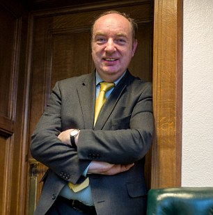 Norman Baker LibDem MP and Minister for Home Affairs for Nick Cecil interview
