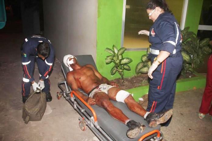Vítima foi socorrida pelo Samu e encaminhada à UPA do 2º Distrito/Foto: Selmo Melo