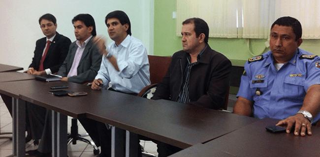 """Cúpula da segurança se reuniu para informar resultados da """"faxina"""" na penal"""