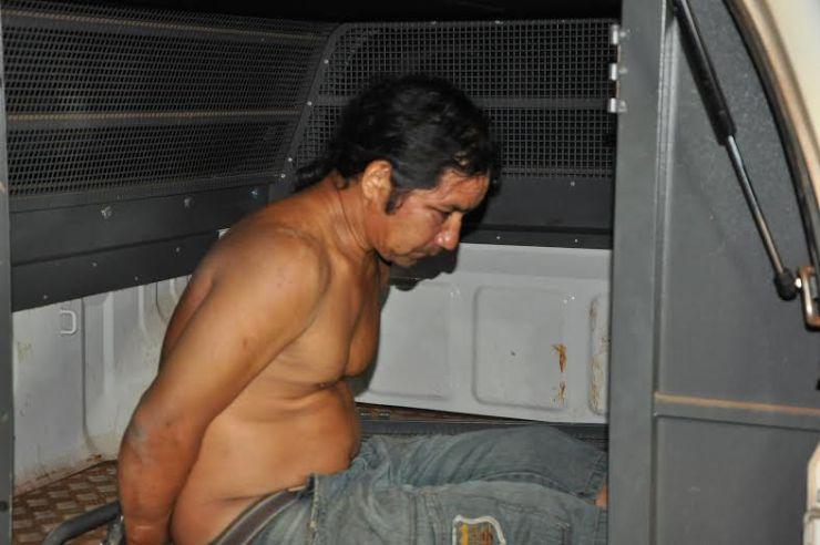 Ele recebeu voz de prisão e foi levado para a Delegacia da Mulher/Foto: Selmo Melo/ContilNet Notícias