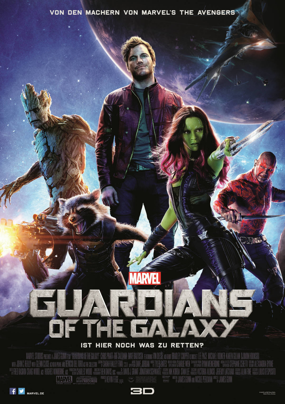 Guardians Of The Galaxy Deutsch