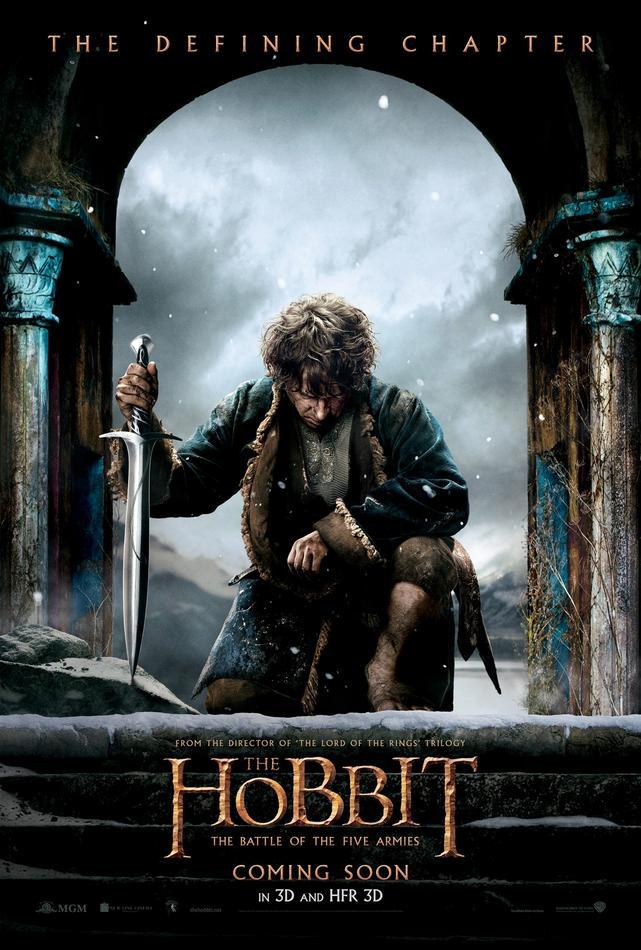 der-hobbit-die-schlacht-der-fuenf-heere-3d-bilbo-poster