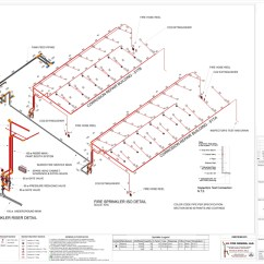 Dry Pipe Sprinkler System Riser Diagram Totaline Thermostat Wiring P374 Services 3d Fire Design Sprinklers Click
