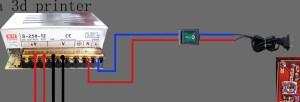 Power Supply Wiring: He3D Delta Printer  3D Printers