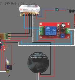 he3d delta dlt 180 heat bed relay wiring 3d printers talk [ 2014 x 1786 Pixel ]