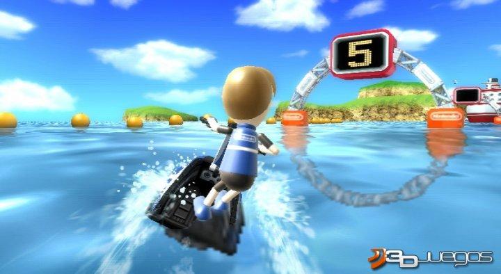 Captura del Wii Sport Resort