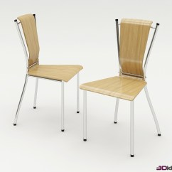 Light Wood Dining Chairs Swing Chair Mauritius Finish And Chrome Dorino  3d