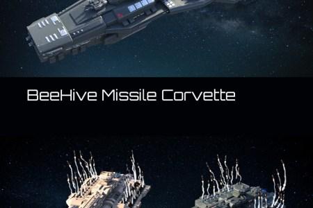 BeeHive Missile Corvette