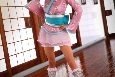 Lolita Kimono Outfit for Genesis 8 Female
