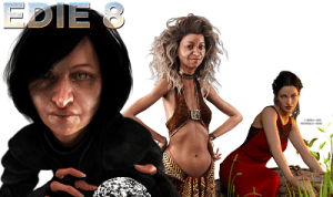 Edie 8 for Daz Studio