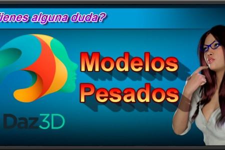 """Cómo trabajar con modelos 3D """"pesados"""" en Daz Studio"""