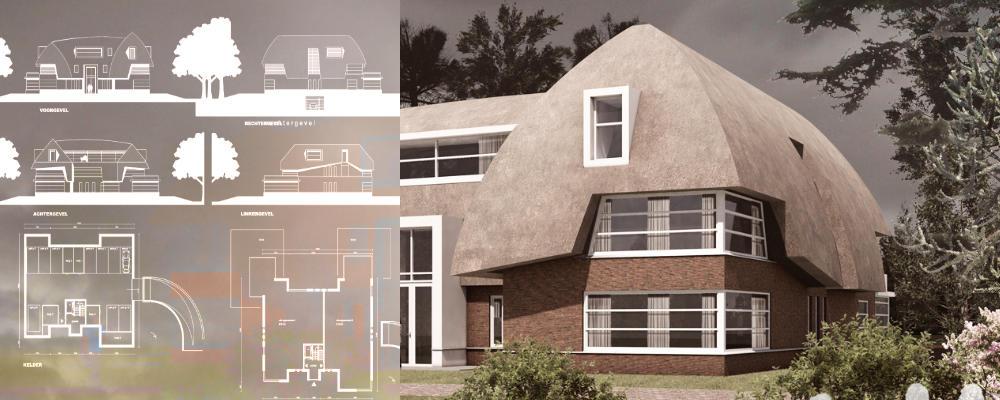 3D presentatie vrijstaande villa