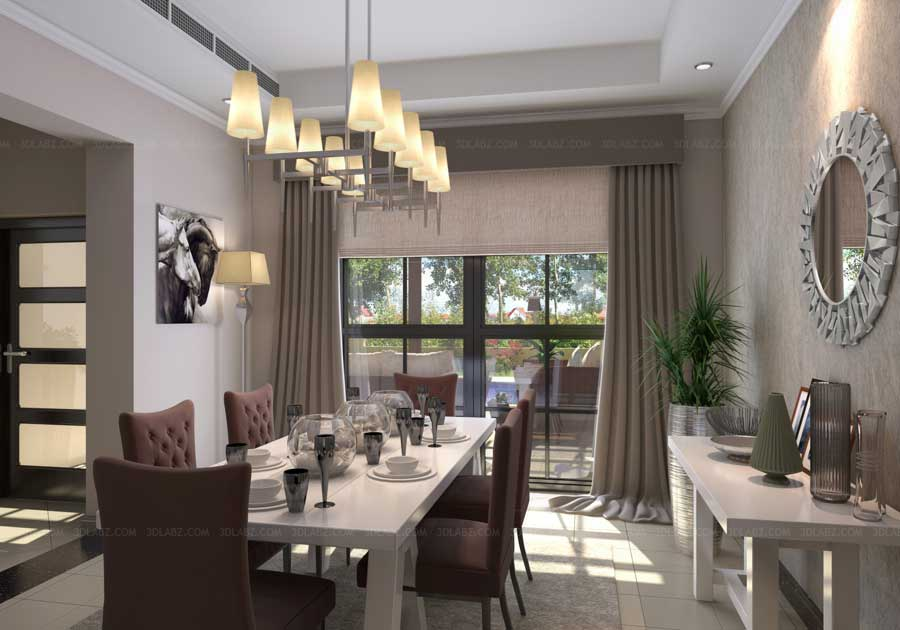 3D Interior Design Dubai UAE