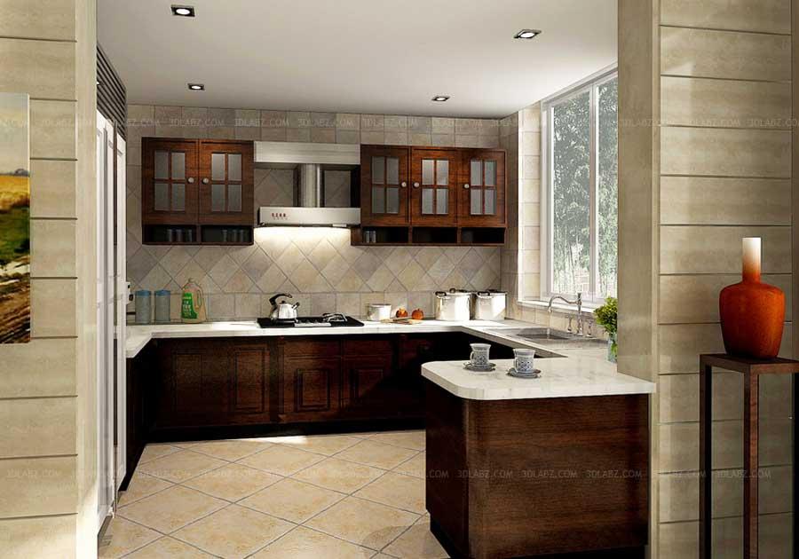 kitchen design bangalore brass faucet interior 3d price india rendering