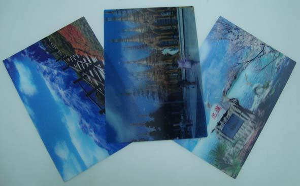 3D Lenticular Printing and 3D Postcards  Singapore and